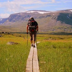 Vandretur i Lapland 2020